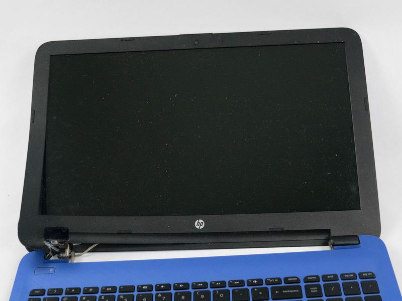 راهنمای تعویض صفحه نمایش HP 15-af013cl
