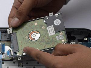 آموزش تعویض هارد دیسک HP 15-AF131DX