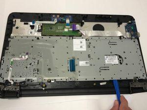 آمورش تعویض صفحه کلید لپ تاپ HP 15-ac121dx