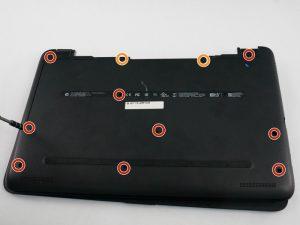 راهنمای تعویض هارد دیسک HP 15-af013cl