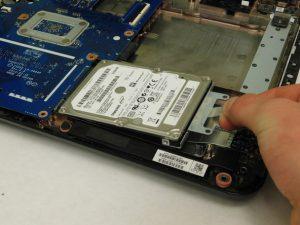 راهنمای تصویری تعویض هارد دیسک HP 15-R263DX