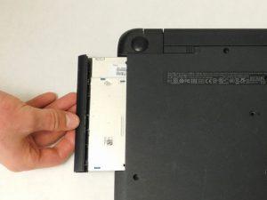آموزش تعویض دیسک نوری HP 15-R263DX