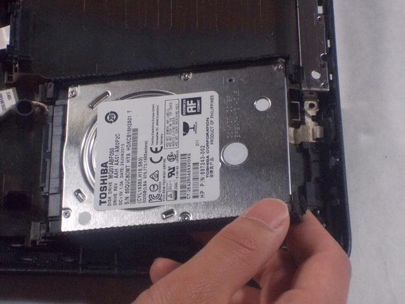 آموزش تعویض هارد دیسک Hp 15-f305dx