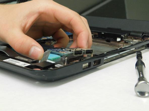 آموزش تعویض پورت HP 15-R263DX USB