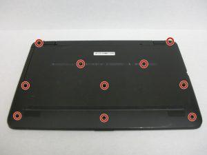 آموزش تعویض هارد دیسک HP 17-x061nr