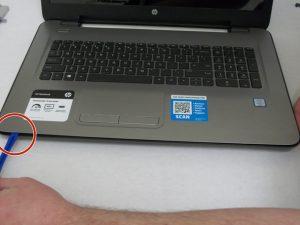 راهنمای تعویض هارد دیسک HP 17-x061nr