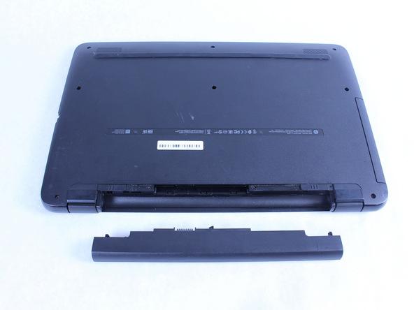آموزش تعویض باتری HP 17-x116dx