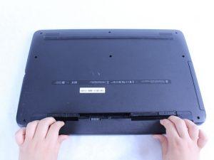 راهنمای تعویض باتری HP 17-x116dx