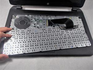 راهنمای تعویض هارد دیسک Hp 15-f305dx