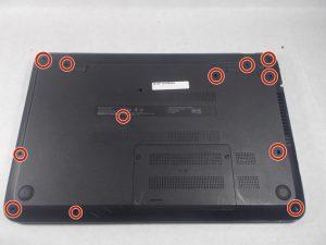 راهنمای گام به گام تعویض هارد دیسک Hp 15-f305dx