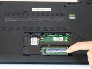 راهنمای مرحله به مرحله تعویض رم HP 15-f009wm