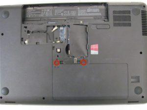 راهنمای تصویری تعویض هارد دیسک HP 2000 - 2D22DX