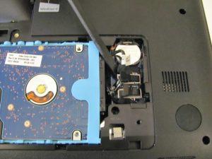 راهنمای گام به گام تعویض هارد دیسک HP 2000 - 2D22DX