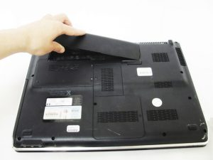 آموزش تعویض باتری HP dv5-1125nr