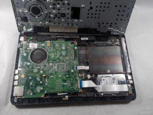 راهنمای مرحله به مرحله تعویض هارد دیسک Hp 15-f305dx