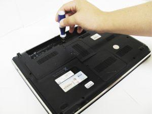 راهنمای تعویض هارد دیسک HP dv5-1125nr