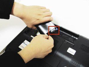راهنمای تصویری تعویض هارد دیسک HP dv5-1125nr