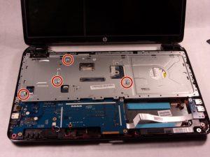 راهنمای تعویض هارد دیسک HP 15-r137wm TouchSmart