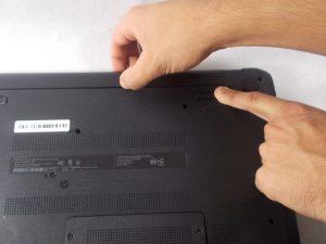 آموزش گام به گام تعویض هارد دیسک HP 15-f033wm