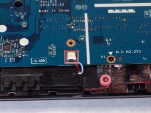 راهنمای مرحله به مرحله تعویض بلندگوهای صوتی HP 15-r137wm TouchSmart