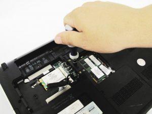 راهنمای تصویری تعویض کیبورد HP dv5-1125nr