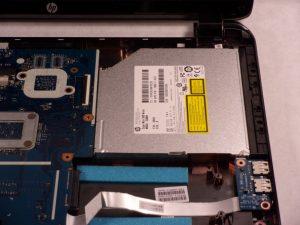 آموزش تعویض هارد دیسک HP 15-r137wm TouchSmart