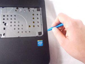 آموزش مرحله به مرحله تعویض هارد دیسک HP 15-f033wm