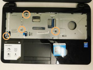 راهنمای تعویض هارد دیسک HP 15-R263DX