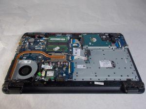 آموزش مرحله به مرحله تعویض هارد درایو HP 15-BA078DX
